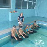 Обучение плаванию жителей мкр.Пашковский
